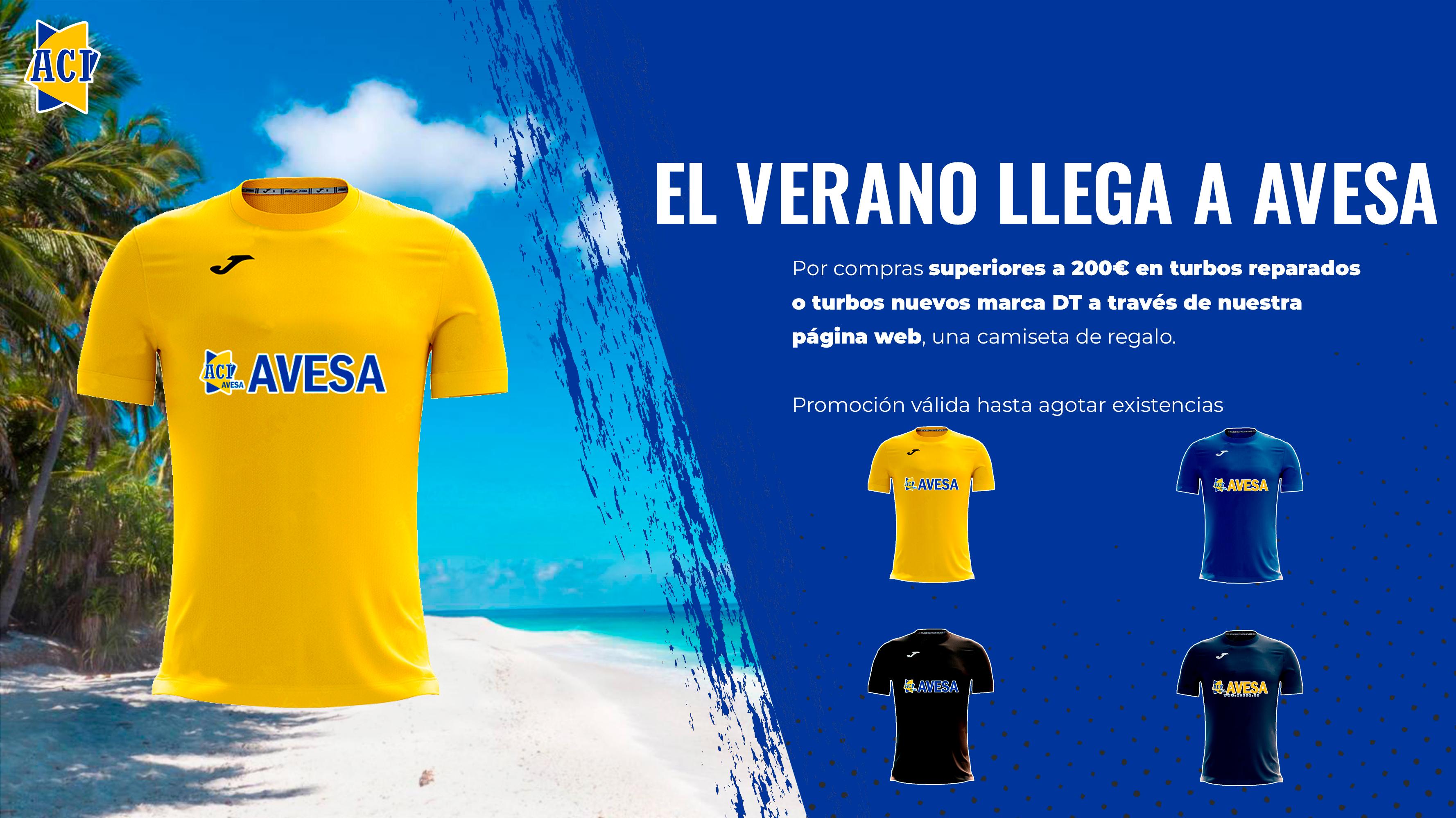 Vuelven nuestras camisetas de verano
